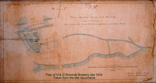 1834 Brewery site