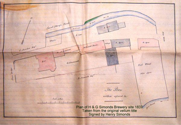 1837 Brewery plan