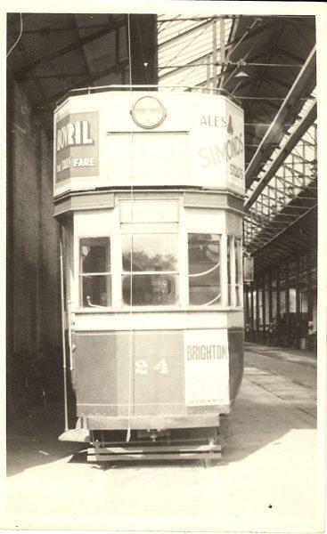 1950c Tram Brighton