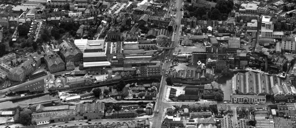 1960's Aerial view