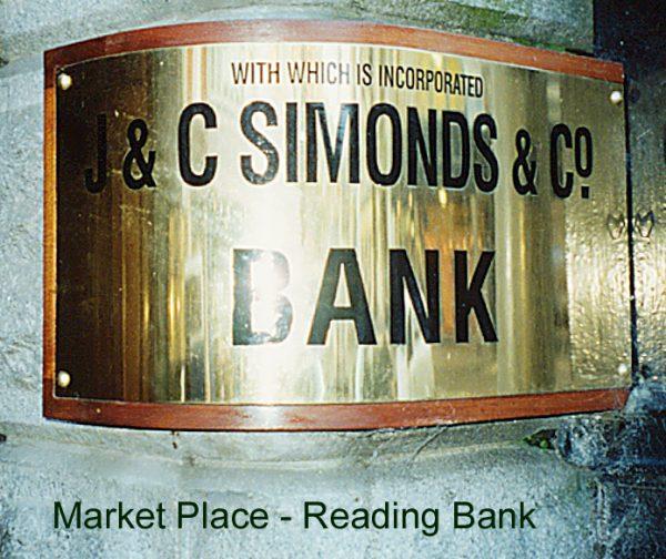 Bank sign b