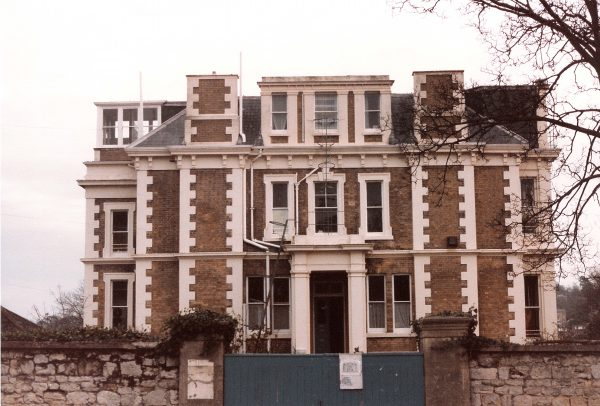 Caversham House West Front 1986