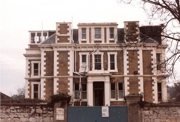Caversham House West Front 1986