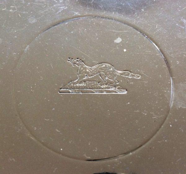 Crested silverware