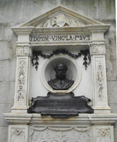 GBS Bazalgette statue