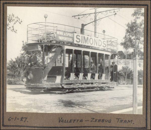 Malta Simonds tram 3