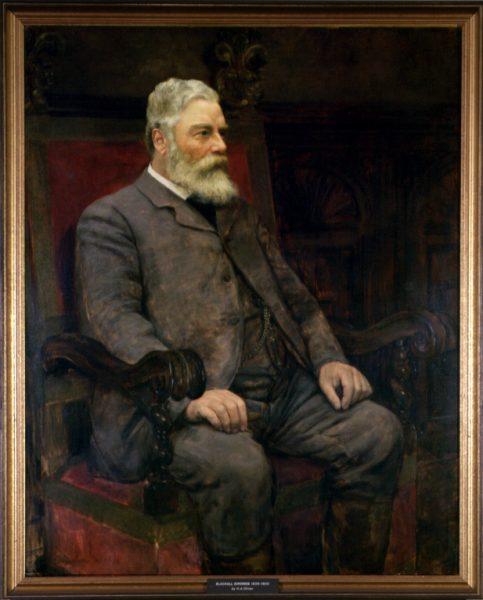 Simonds Blackall portrait