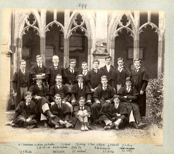 Simonds GT college 1899 prefects [5342]