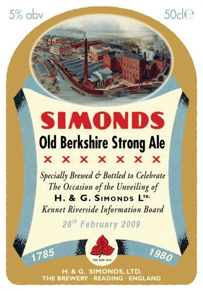 Simonds special bottle label final