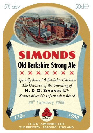 Simonds special bottle label final