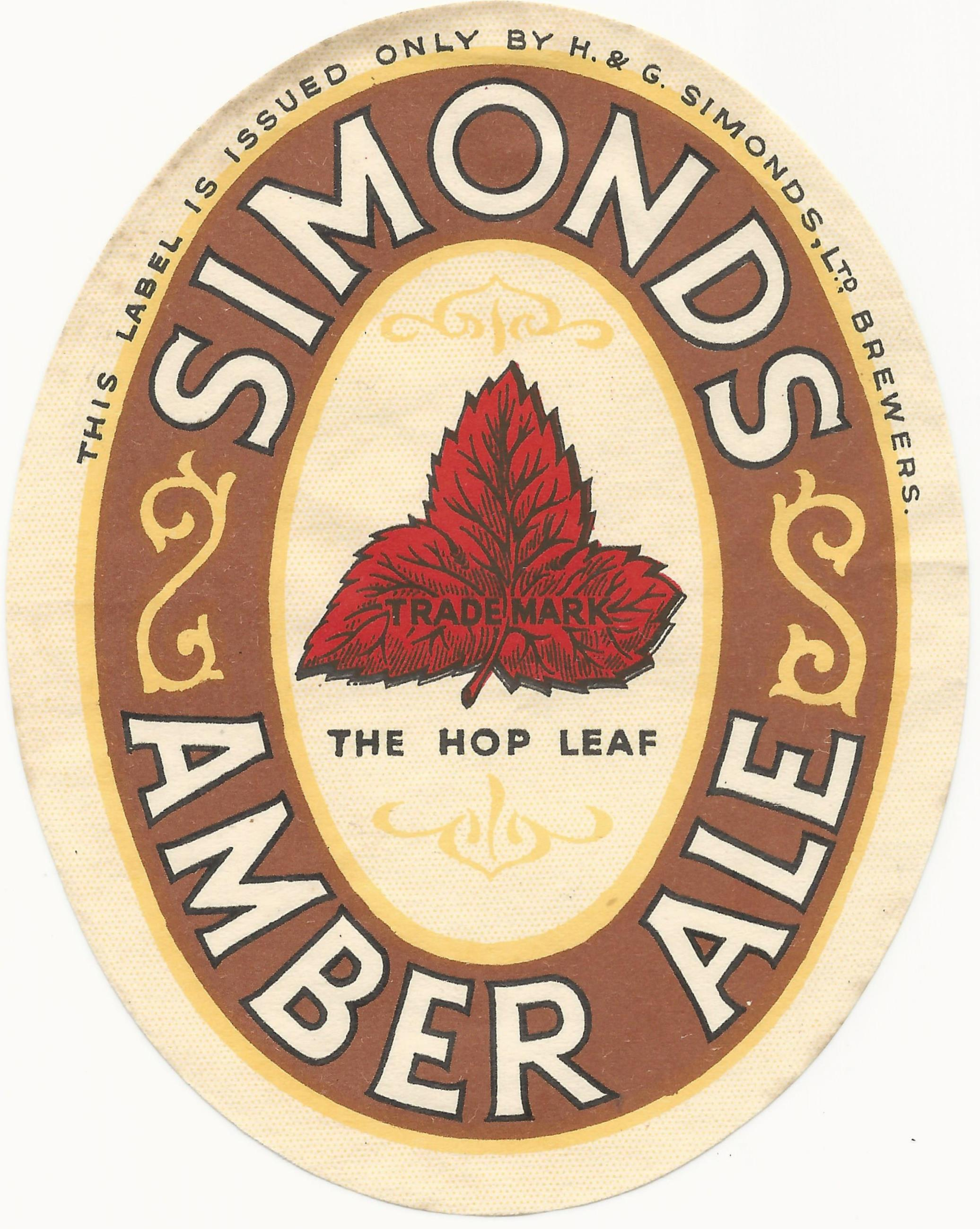 Amber Ale 1930's
