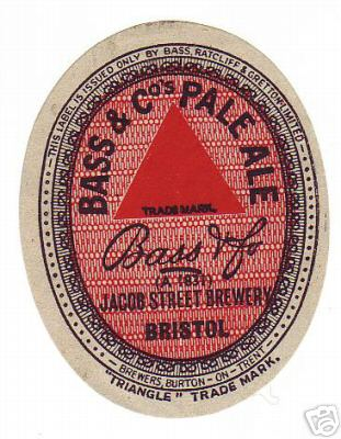 Bass Pale Ale Jacob Street 1935