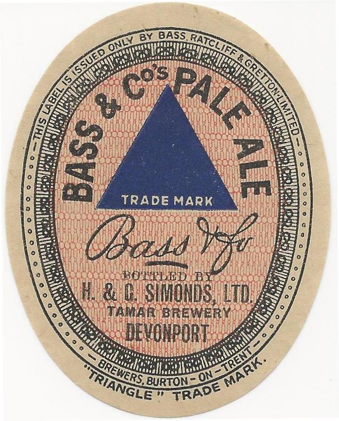 Bass Pale Ale devonport