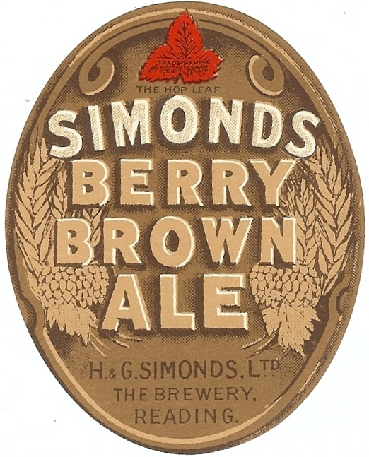 Berry Brown 1 oval 1934