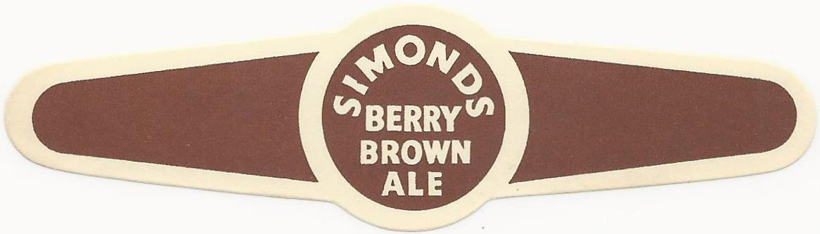 Berry Brown 9b neck label
