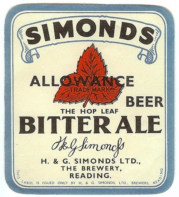 Bitter Ale 3 Allowance Beer