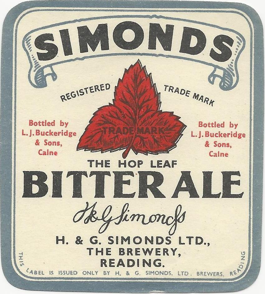 Bitter Ale 5 Buckeridge
