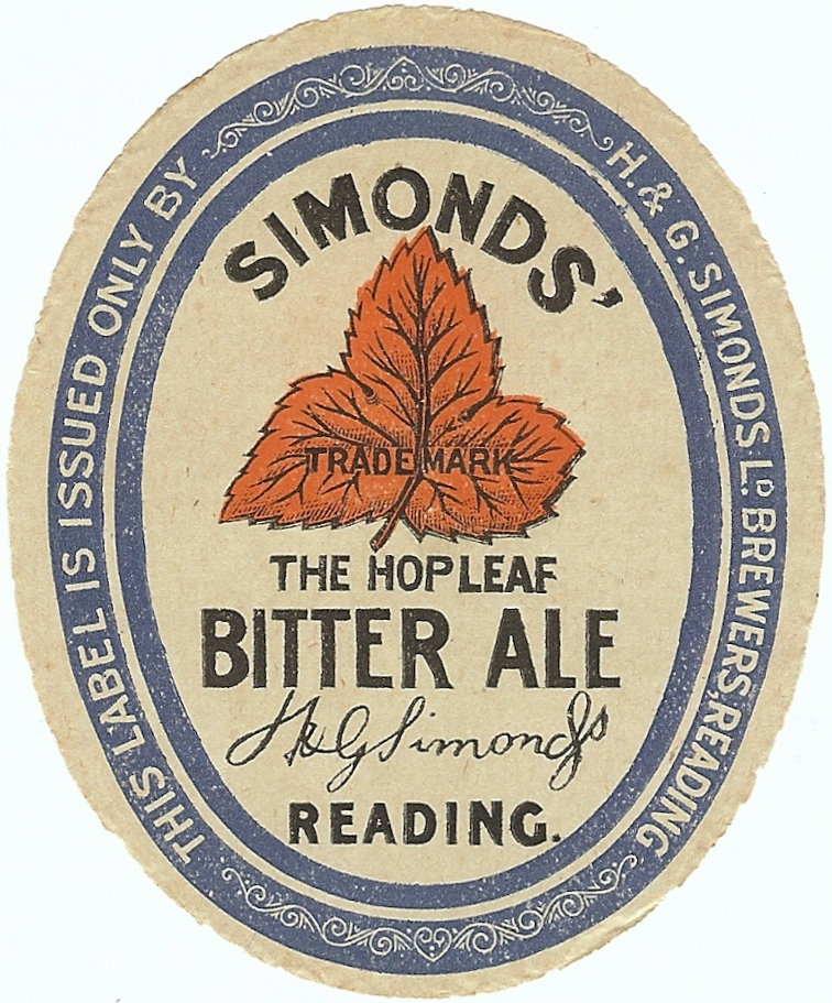 Bitter Ale 6 Oval 1930's