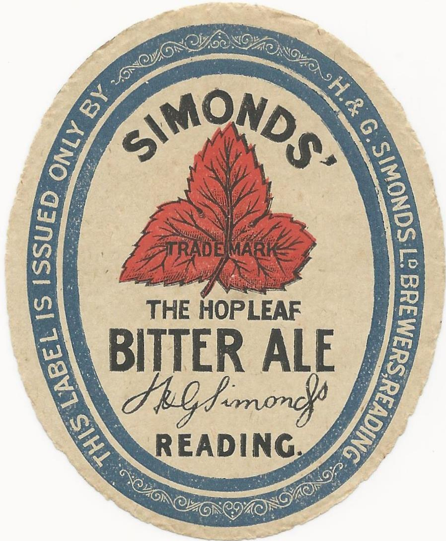 Bitter Ale 8 1930's
