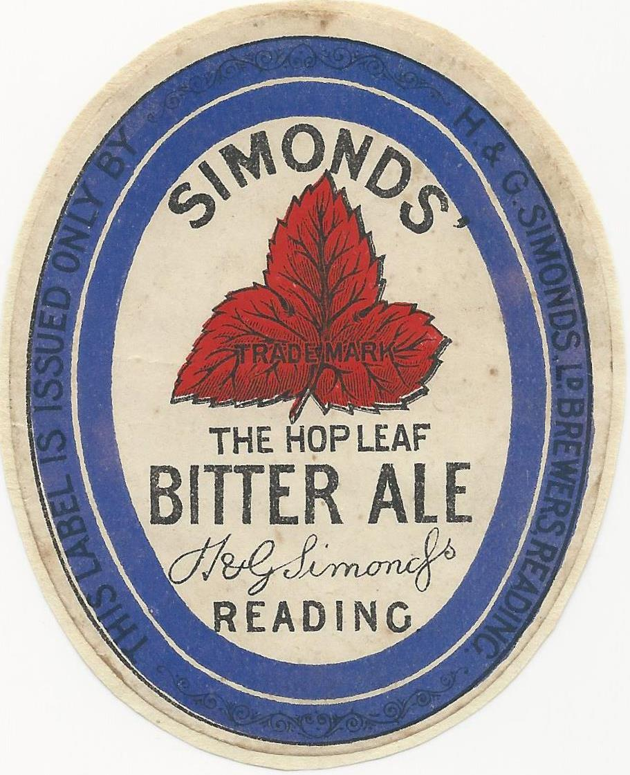 Bitter Ale 8a 1930's