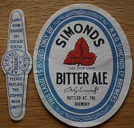 Bitter Ale & Stopper 1930's