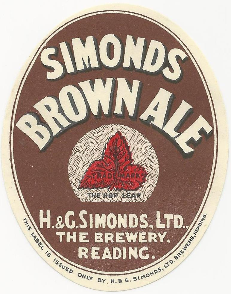 Brown Ale 1 Oval 1932