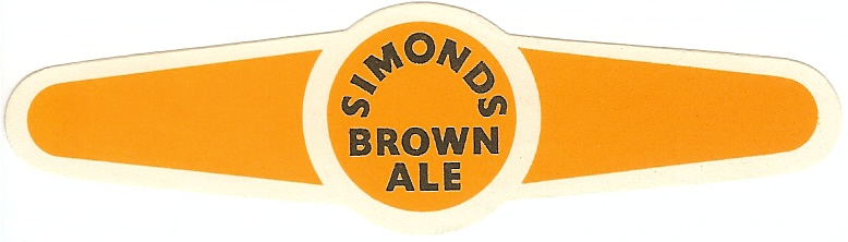 Brown Ale 10 neck label