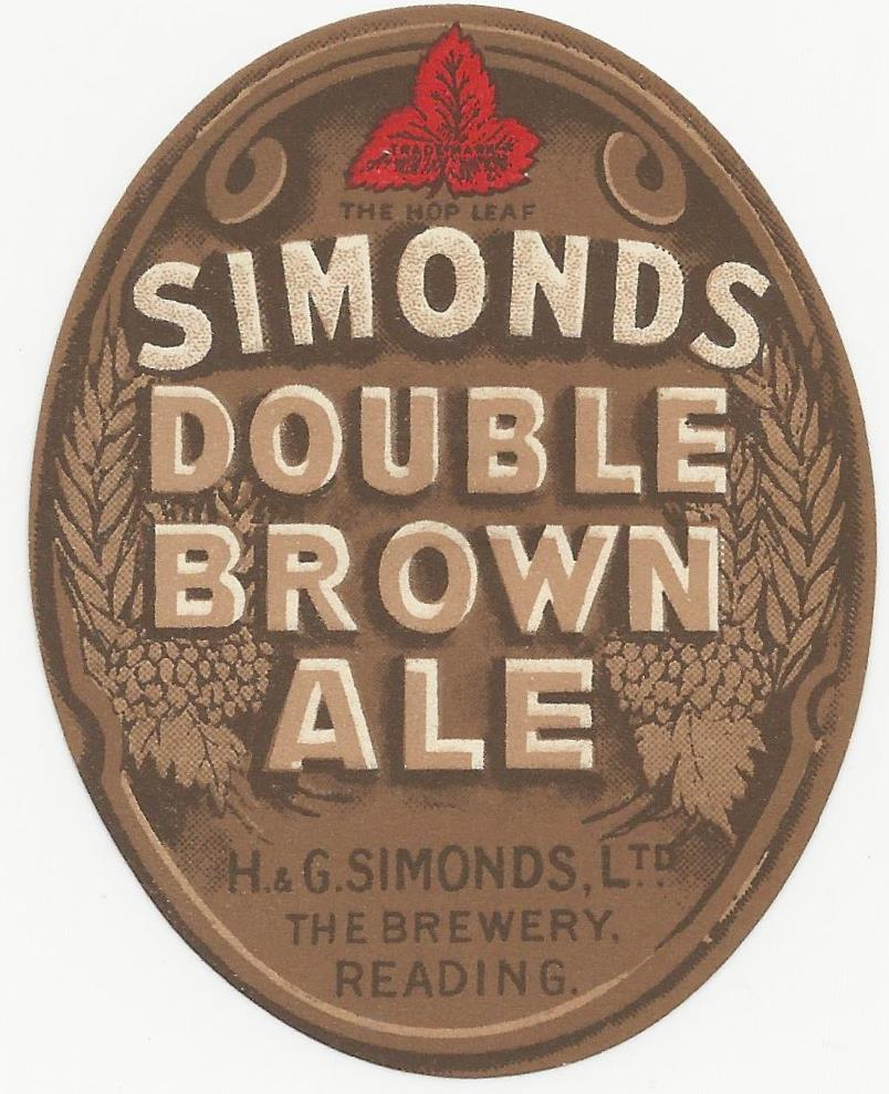 Brown Ale 7 Double oval 1930's