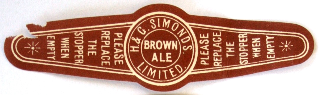 Brown Ale Stoppper label