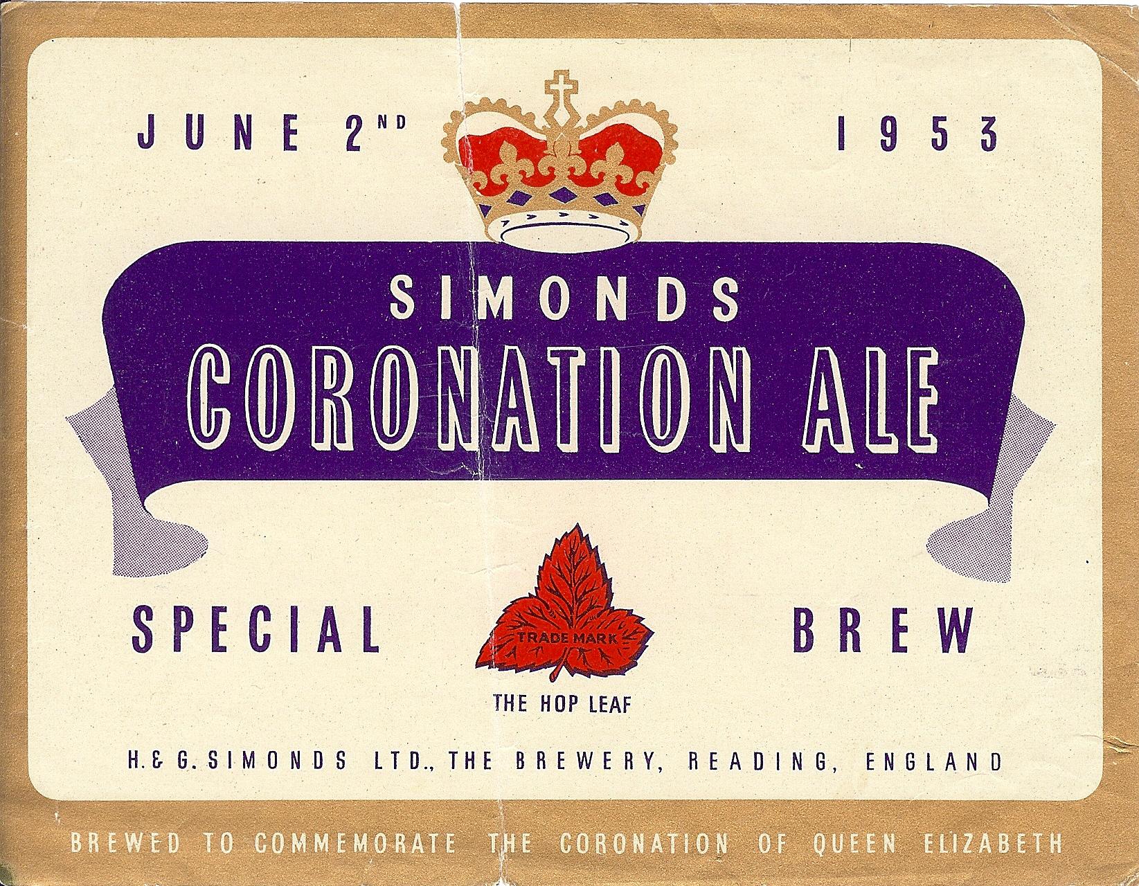 Coronation Ale 1 1953