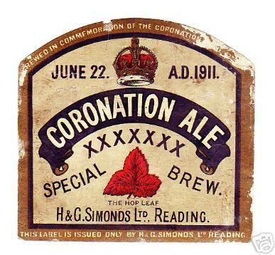 Coronation Ale 1911