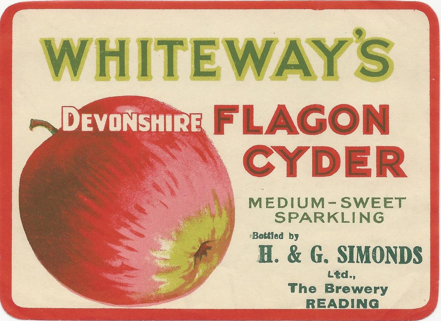 Cyder 3 Whiteways Flagon
