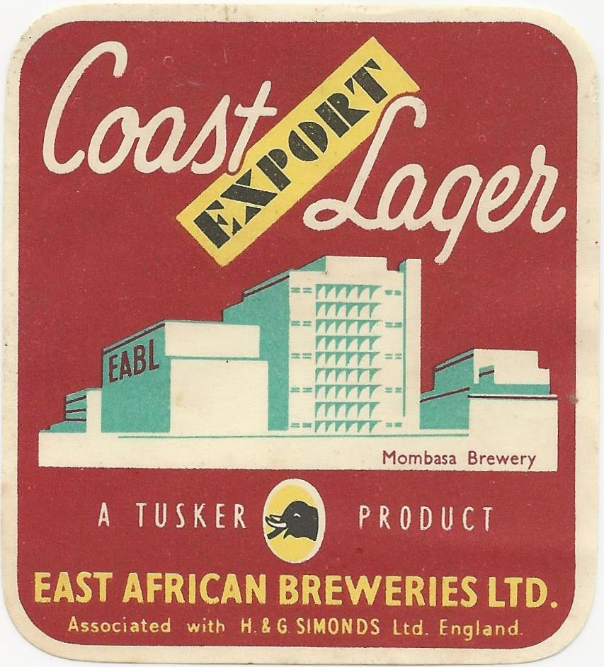 East African Breweries Coast Lager