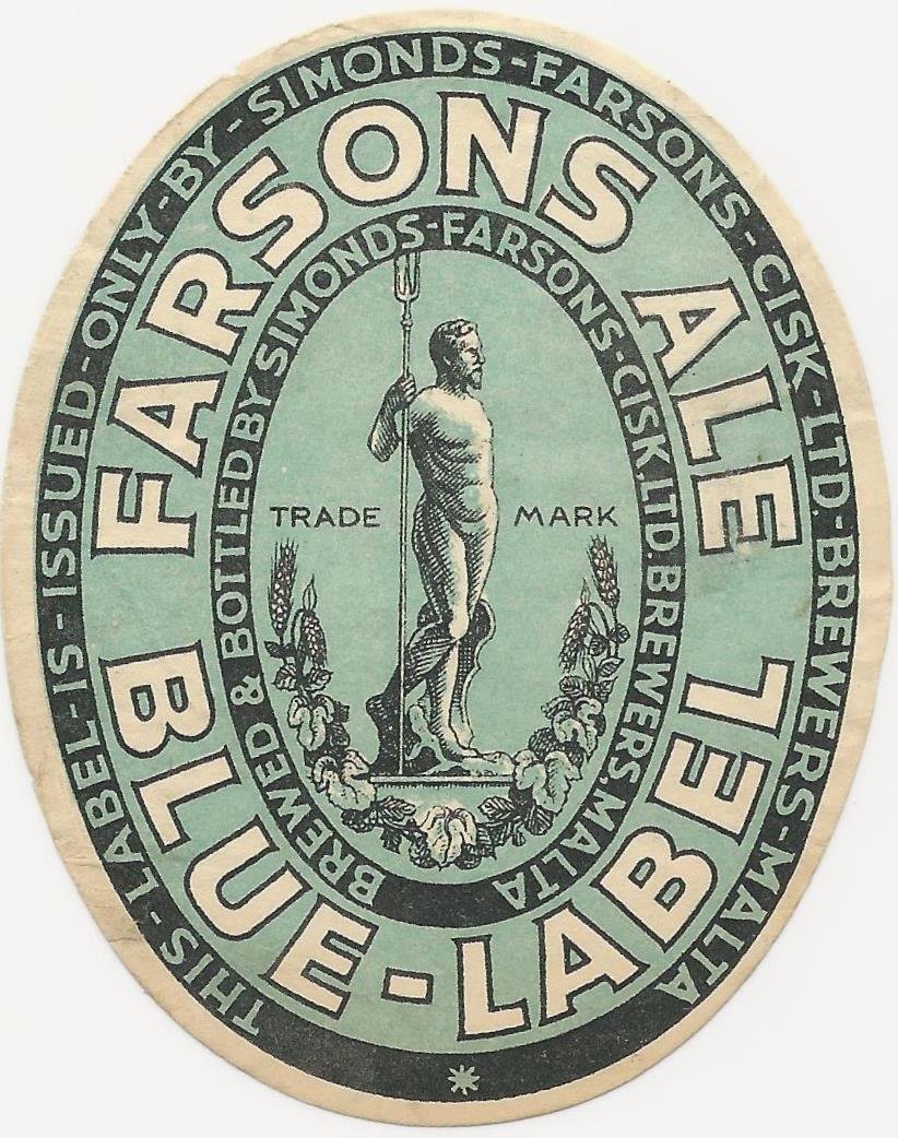 Farsons Blue Label 1