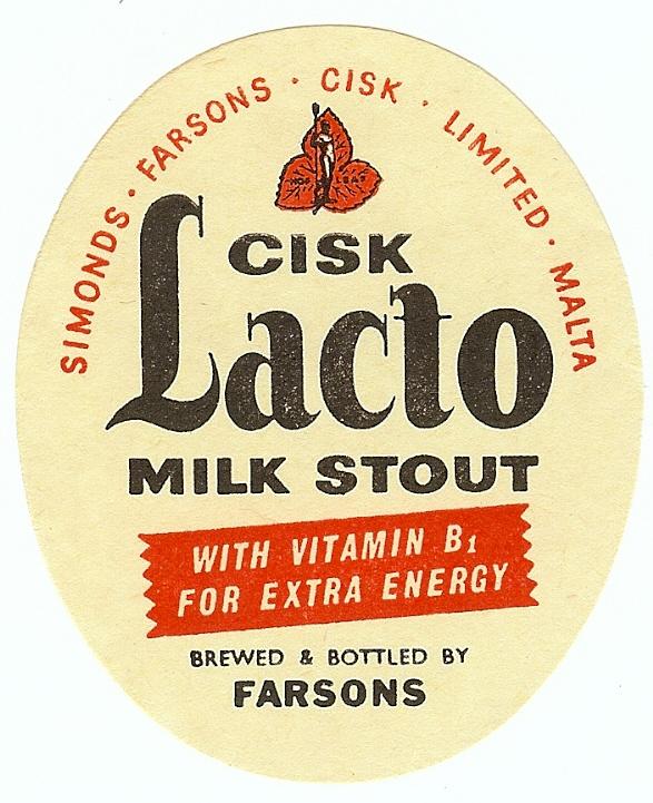 Farsons Cisk Lacto Milk Stout small a