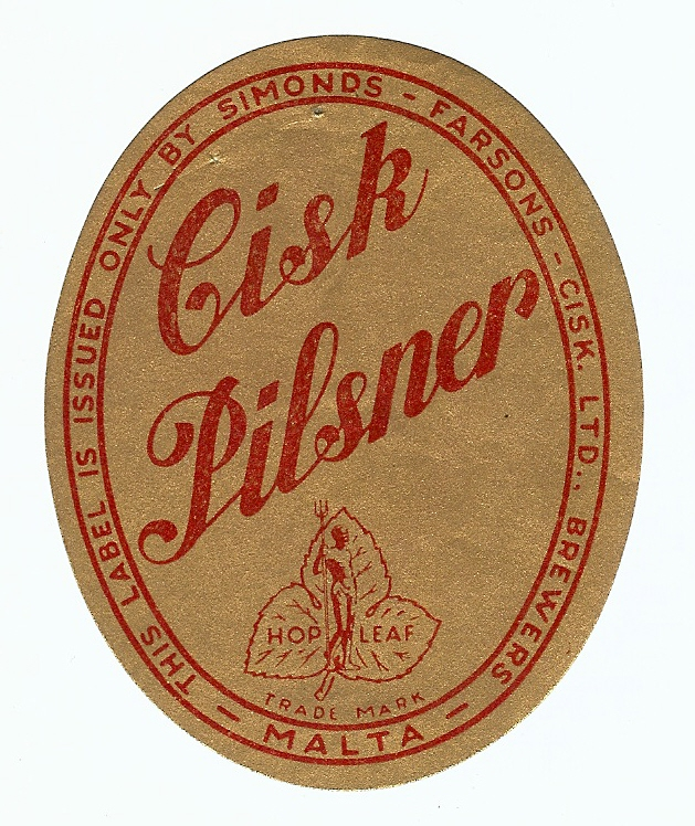 Farsons Cisk Pilsner
