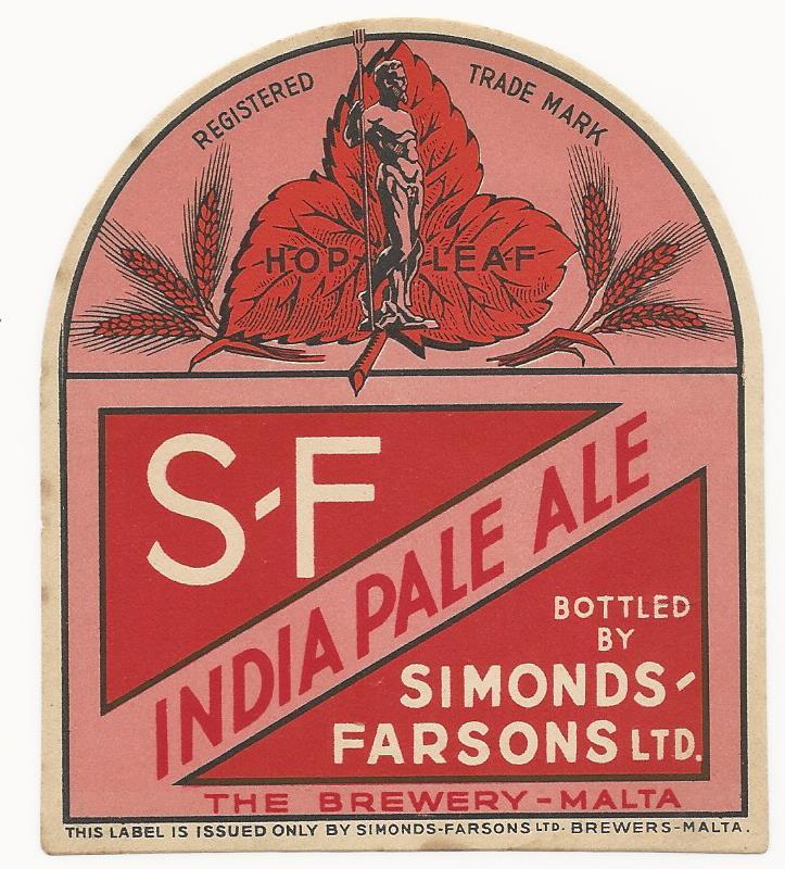 Farsons IPA 1940