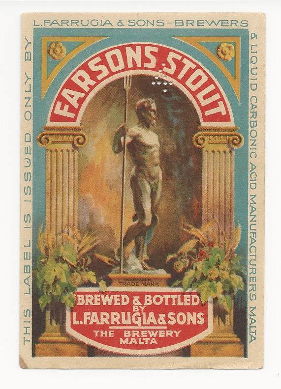 Farsons Stout 1928