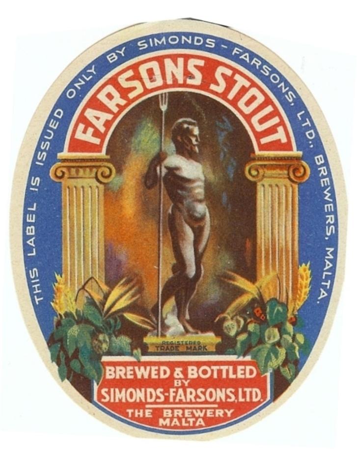 Farsons Stout c1945