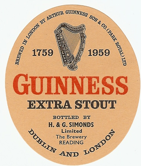 Guinness 05 Reading 1960 oval