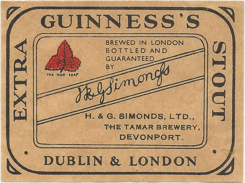 Guinness 08 Devonport wartime
