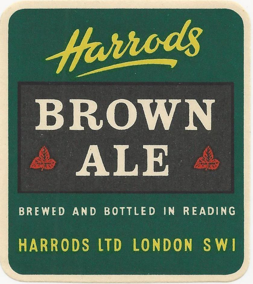 Harrods 1a Brown Ale