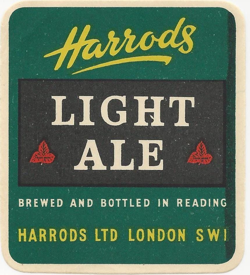 Harrods 2 Light Ale