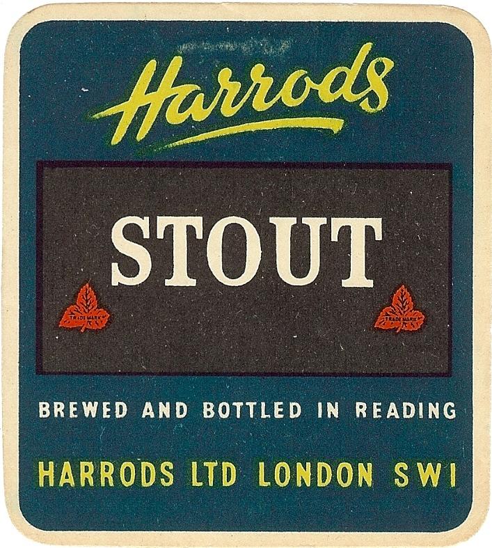 Harrods 3 Stout