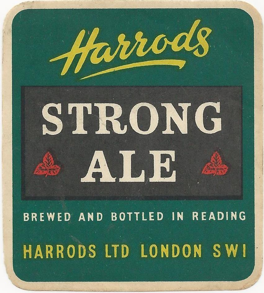 Harrods 4 Strong Ale