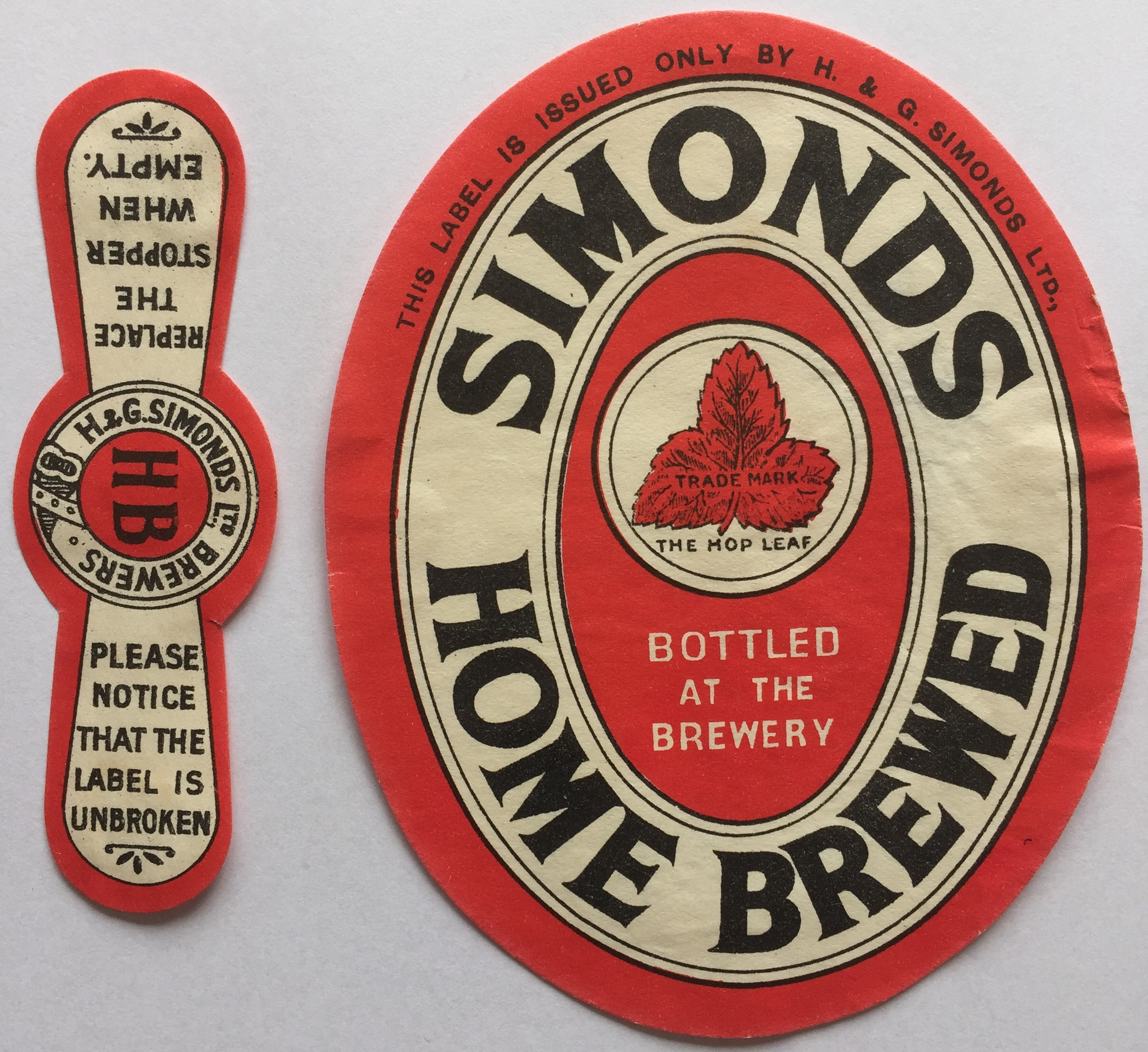 Home Brewed & stopper