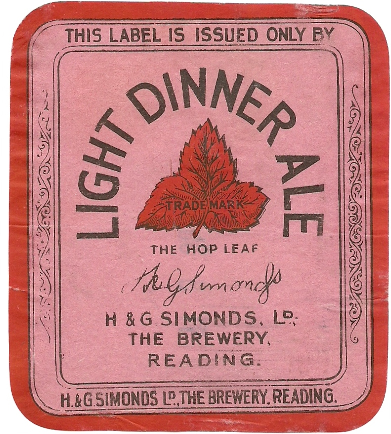 Light Dinner Ale 1 large format 9.7×11