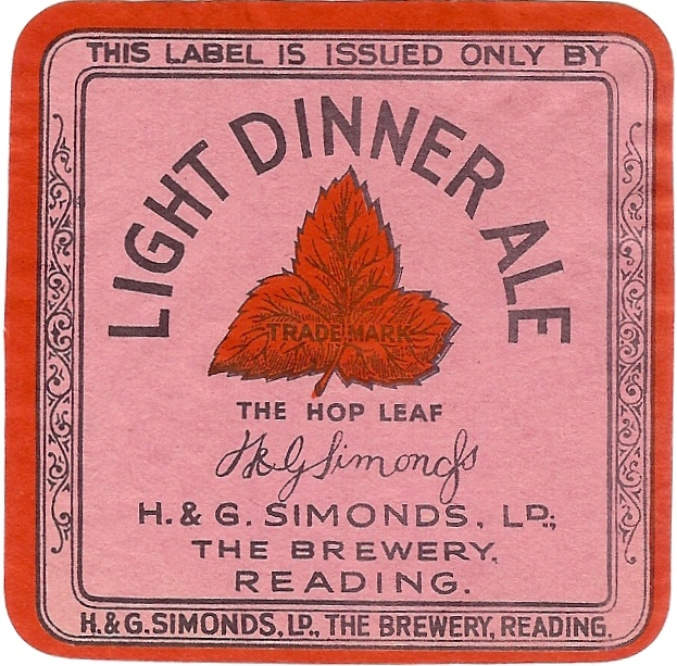 Light Dinner Ale label