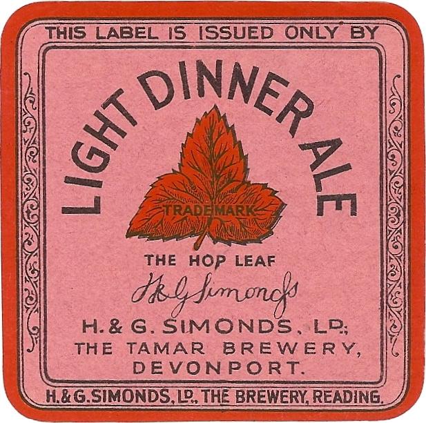Light Dinner Ale 3 square Devonport