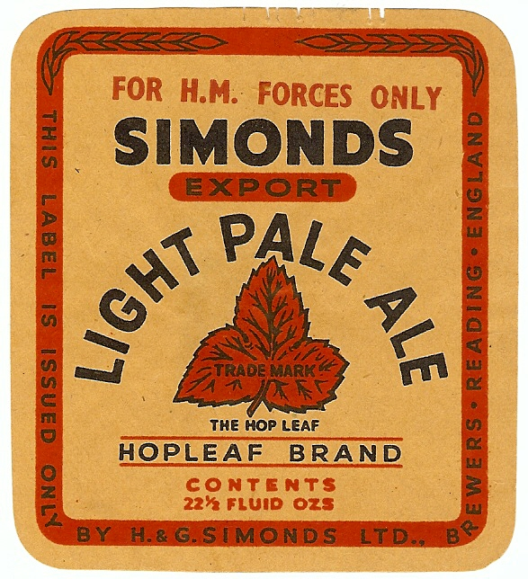 Light Pale Ale 10 HM Forces 1950-58